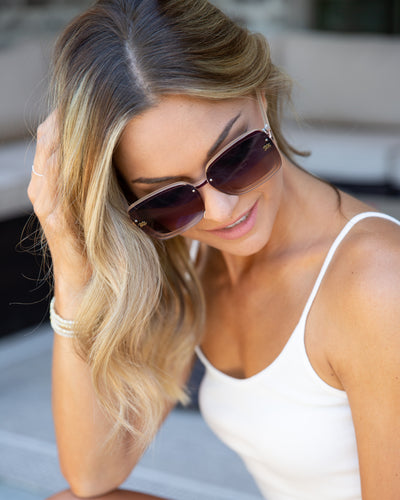 Presley Sunglasses - Tan
