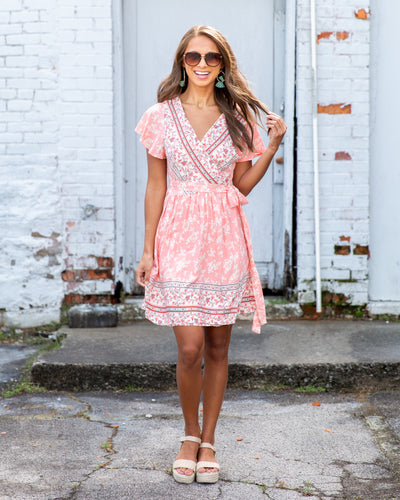 Pretty As Can Be Dress - Light Pink