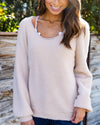 Pull You Closer Sweater - Beige