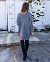 Reasons To Stay Oversized Sweater - Charcoal