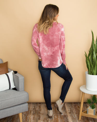 Relaxing Weekend Top - Magenta