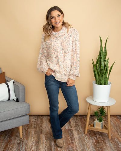 Restless Hearts Sweater - Multi