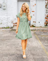 Right About You Dress - Sage