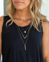 Rosie Layered Necklace - Gold