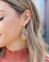 Ross Beaded Earrings - Multi