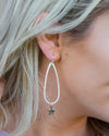 Samantha Hoop Earrings - Silver/Gold