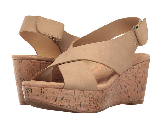 Chinese Laundry Avery Wedge - Nude