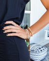 Serena Stackable Bracelet - Tan