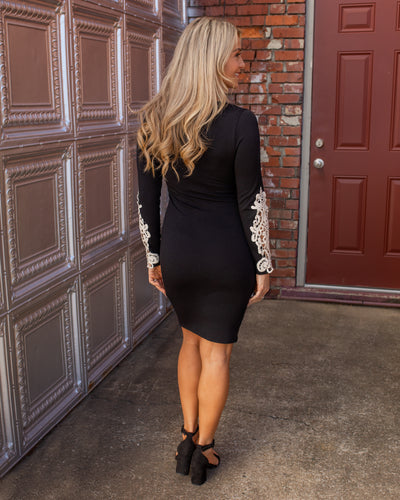 Set Your Sights Dress - Black