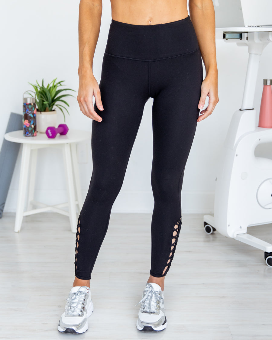 Setting Records Leggings - Black