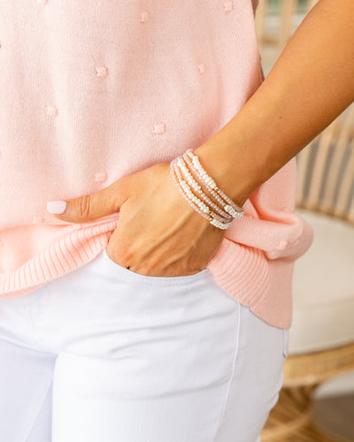 Shay Stackable Bracelet - Mauve