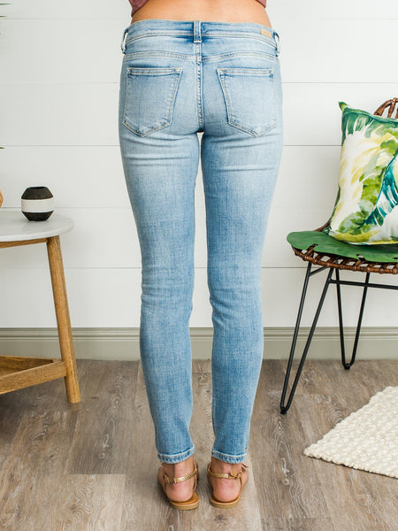 Stella Sexy Boyfriend Jeans - Light Wash
