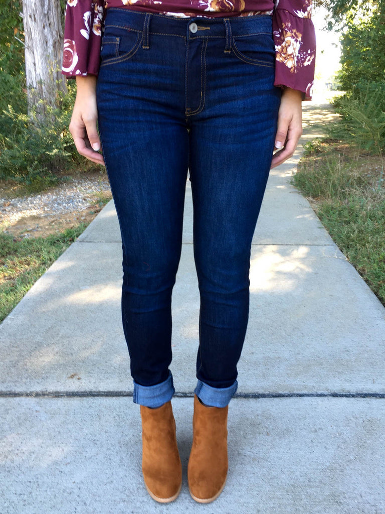 Favorite Skinny Jeans - Dark Wash – Eleven Oaks Boutique