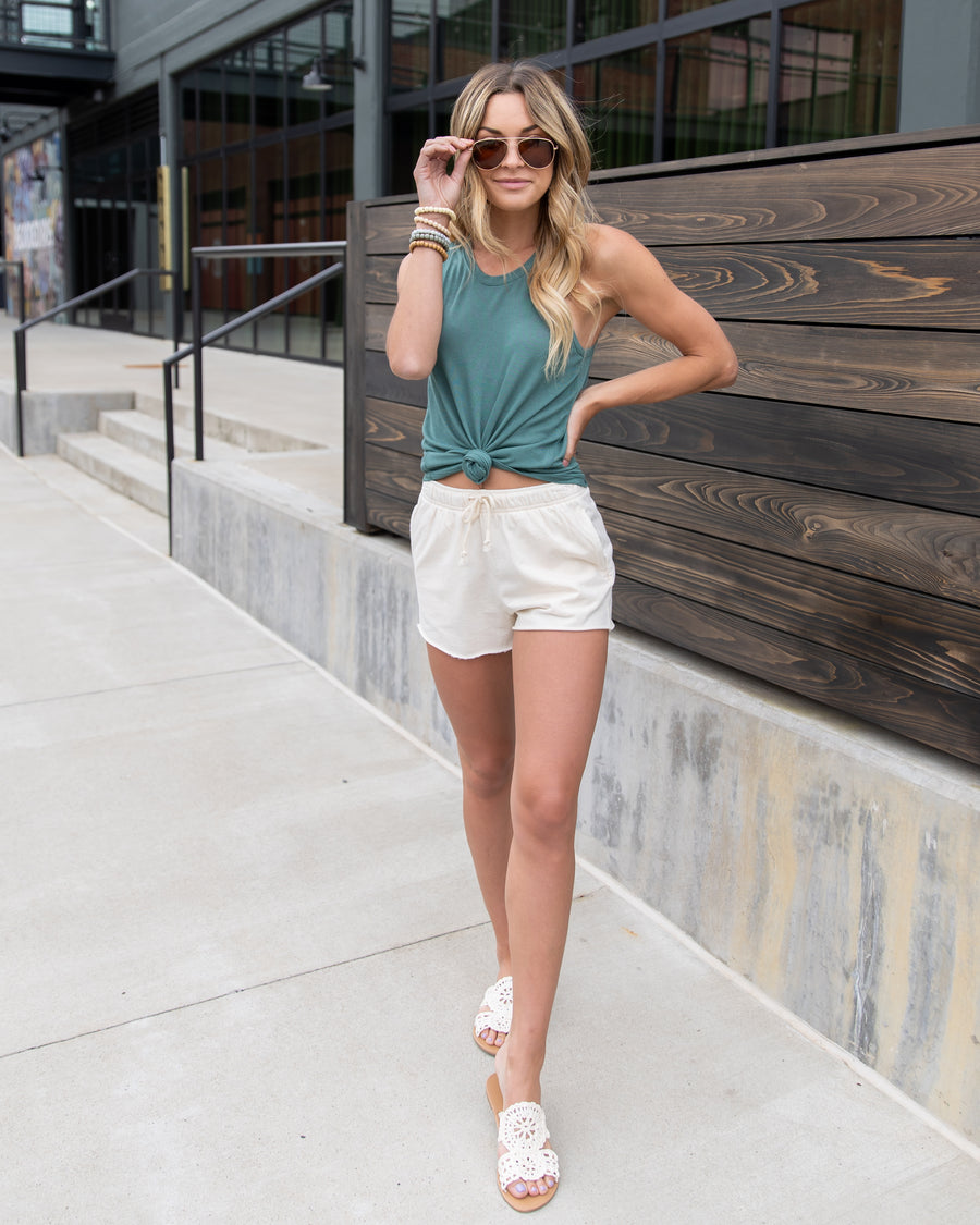 Simple Perfection Tank - Sea Green