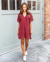 Simple Wonders Dress - Wine