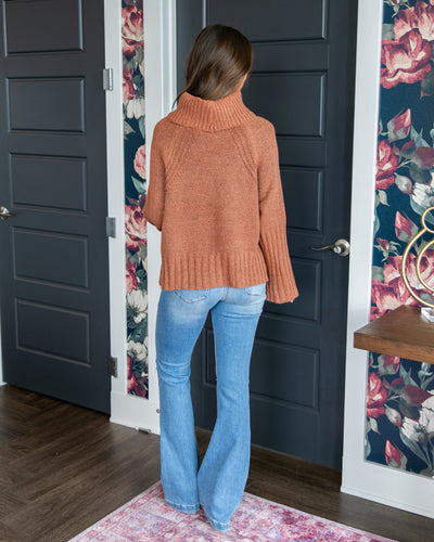 Smitten With You Sweater - Ginger