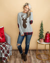 Snow Place Like Home Top - Heather Grey