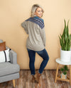Snow Retreat Top - Grey
