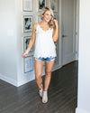 Something Special Lace Camisole - Off White