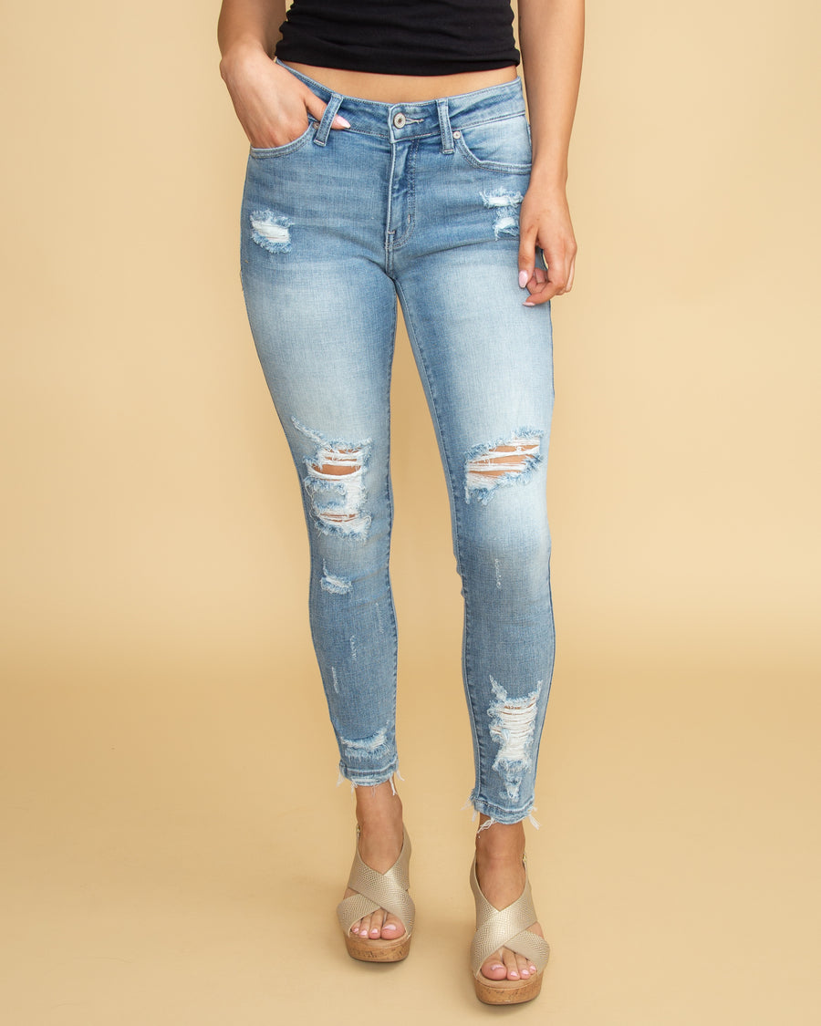 8fa5e4b7a7f4f Sophia Distressed Skinny Jean - Light Wash