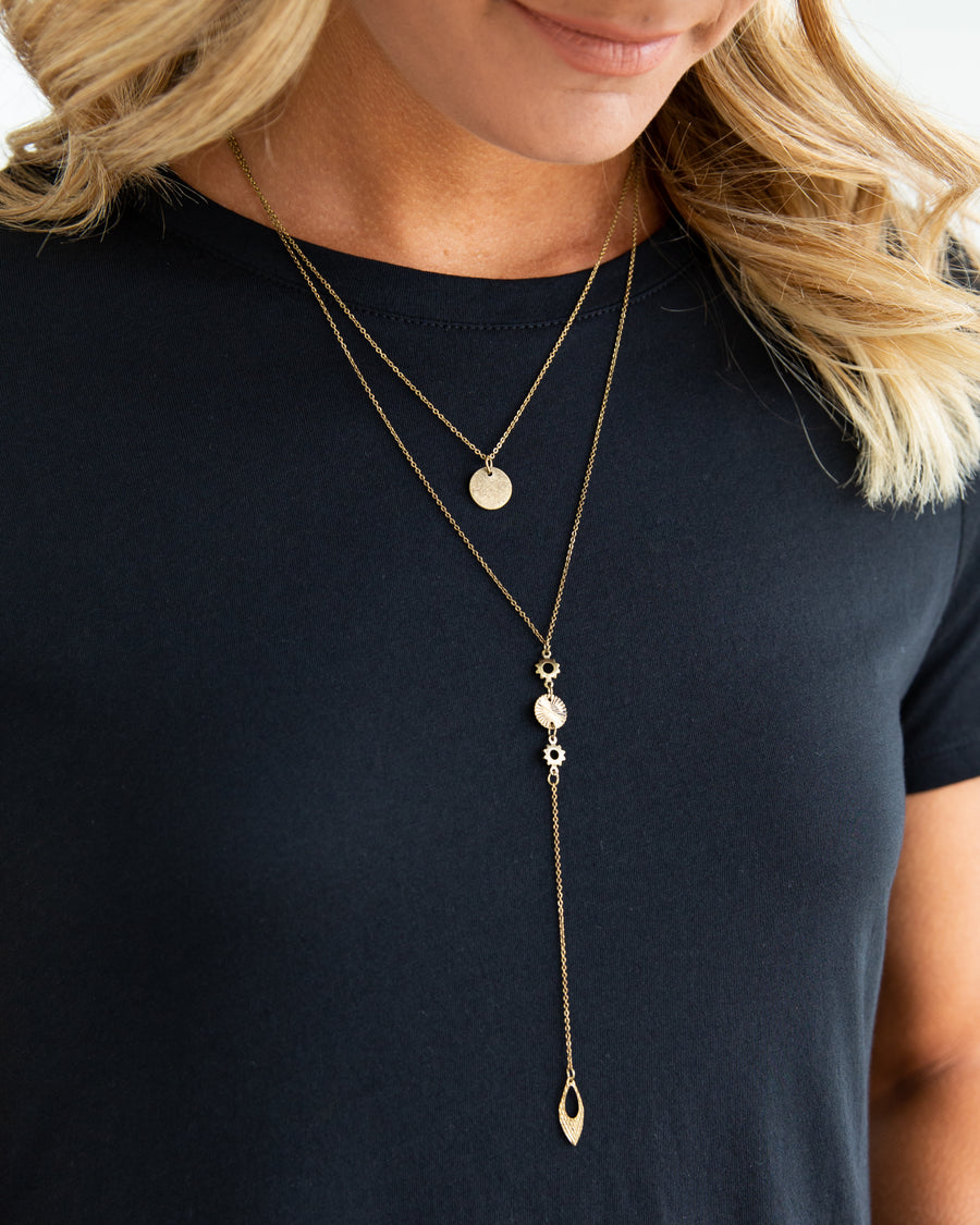 Sophie Layered Necklace - Gold