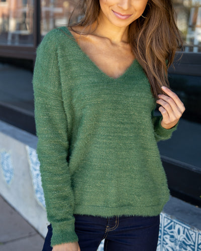 Special Moments Sweater - Forest Green