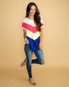 Spice It Up Color-Block Top - Multi
