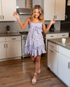Spring Showers Dress - Dusty Lilac