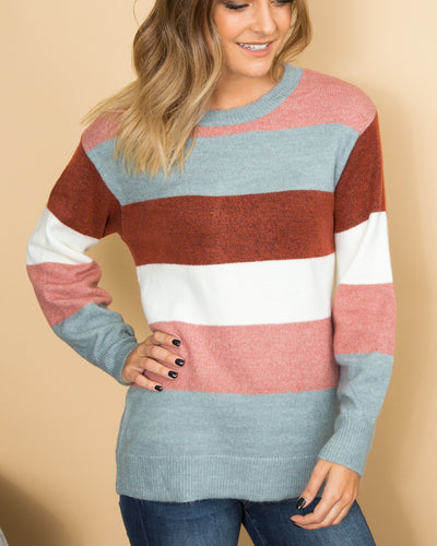 Spur Of The Moment Sweater - Multi