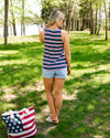 Star Spangled Celebration Tank - Navy