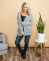 Start Your Week Cardigan - Grey