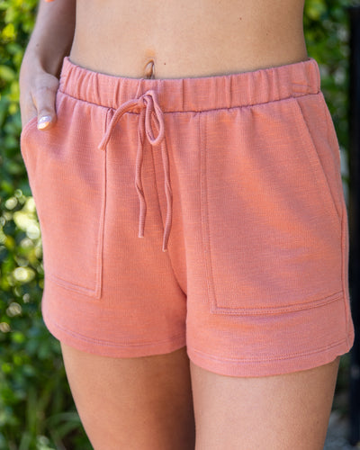 Stay With Me Shorts - Terracotta