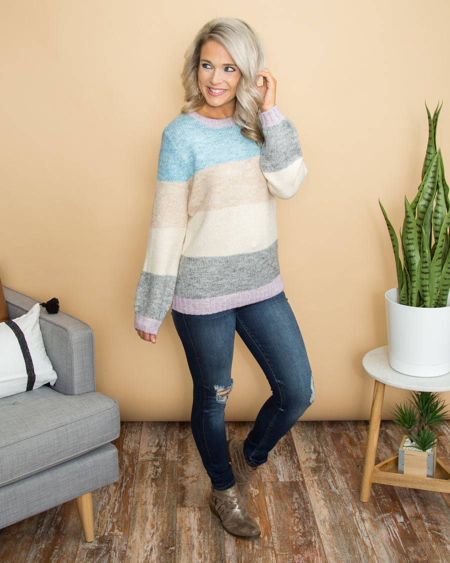 Such A Charmer Sweater - Multi