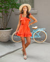Summer In The City Dress - Sunset Orange