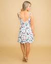 Sunshine In Sicily Floral Dress - Off White
