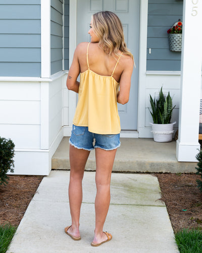 Sweet For The Summer Tank - Buttercup