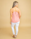 Sweet Escape Tank - Dusty Pink