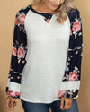 Sweet Talker Top - Navy
