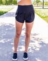 Sydney Athleisure Shorts - Black