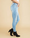 Sydney Distressed Skinny Jeans - Light Wash
