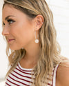 Tate Hoop Earrings - Silver
