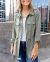 The Chrissy Jacket - Olive