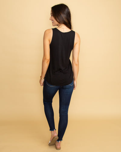 The Kacy Tank - Black