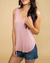 The Kacy Tank - Blush