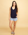 The Kacy Tank - Navy