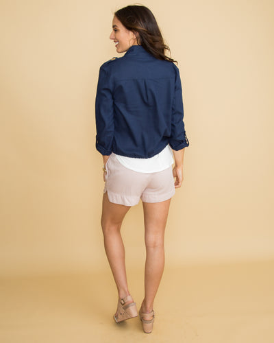 The Kate Jacket - Navy