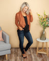 The Roxie Jacket - Cognac