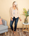 The Roxie Jacket - Sandy Beige