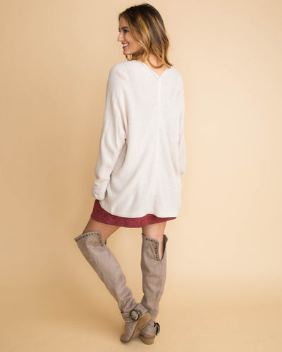 The Studio Cardigan - Cream