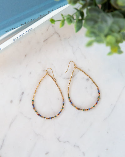 Tinsley Earrings - Dark Multi